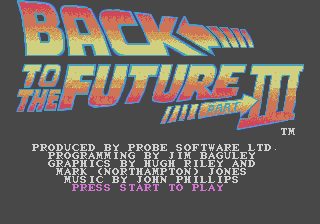 Back to the Future Part III 0