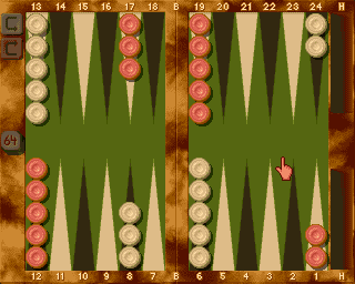 Backgammon Royal 1