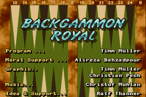 Backgammon Royal abandonware
