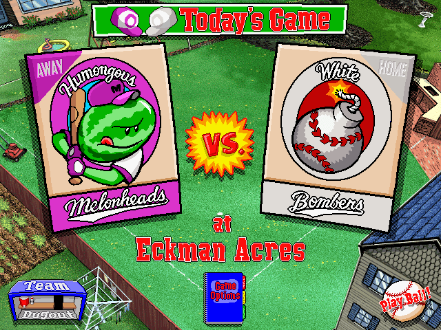 Backyard Baseball 6 - Download Backyard Baseball (Windows) - My Abandonware