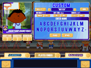 Backyard Basketball abandonware