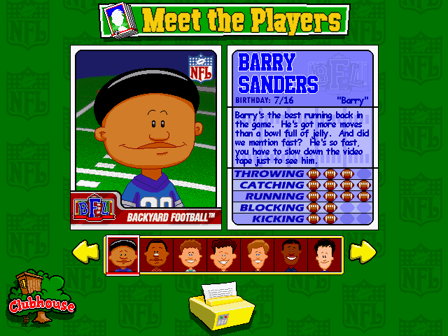 Download Backyard Football (Windows) - My Abandonware