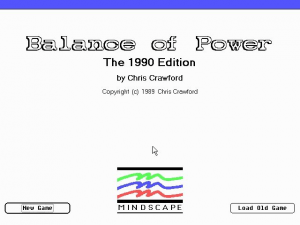 Balance of Power: The 1990 Edition 0