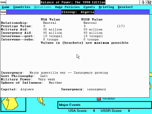 Balance of Power: The 1990 Edition abandonware