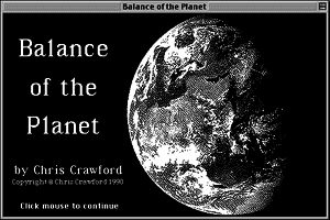 Balance of the Planet 1