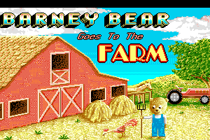 Barney Bear Goes to Farm abandonware