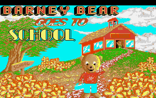 Barney Bear Goes to School 0