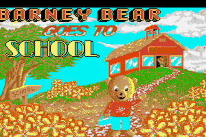 Barney Bear Goes to School abandonware