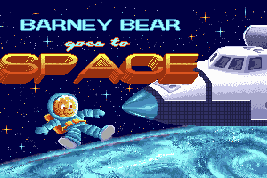 Barney Bear Goes to Space abandonware
