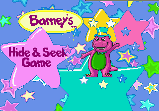Barney's Hide & Seek Game 0