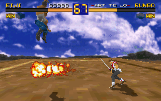 Battle Arena Toshinden 10