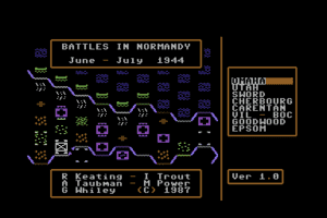 Battles in Normandy 1