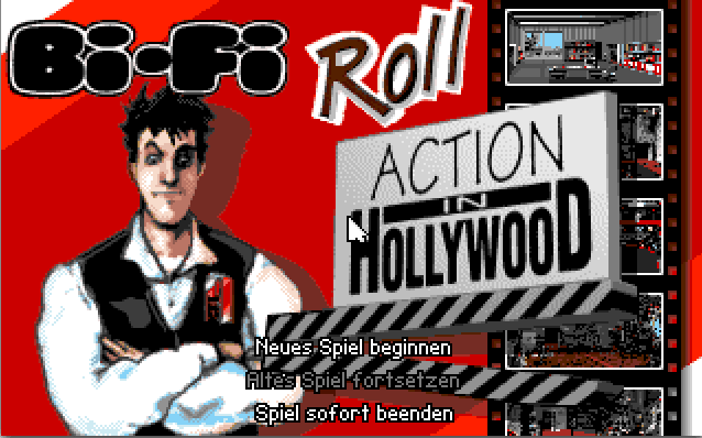 Bi-Fi Roll: Action in Hollywood 0