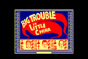 Big Trouble in Little China 0