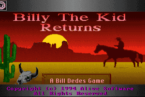 Billy the Kid Returns! 0