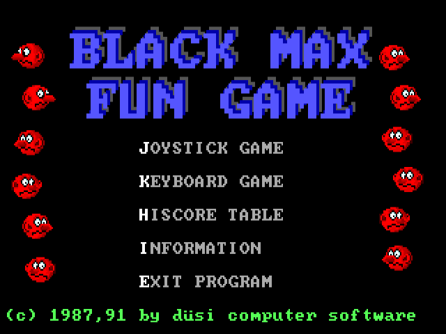 BLACK MAX Fun Game 1