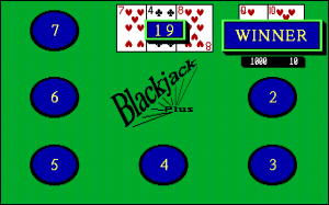 Blackjack Plus abandonware