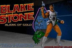 Blake Stone: Aliens of Gold 0