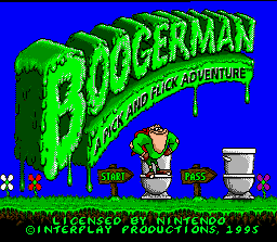 Boogerman: A Pick and Flick Adventure 0