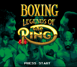 Boxing Legends of the Ring 0