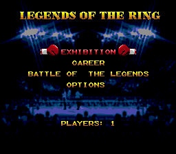 Boxing Legends of the Ring 1