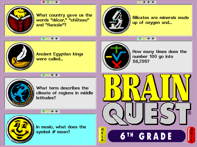 Brain Quest 6th Grade Edition 4