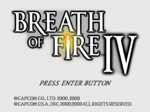 Breath of Fire IV 0