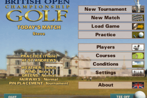 British Open Championship Golf 0