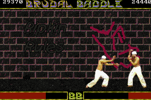 Brudal Baddle 12