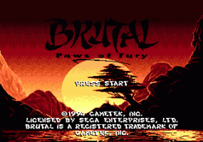 Brutal: Paws of Fury 0