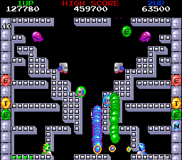 Bubble Bobble also featuring Rainbow Islands 3