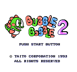 Bubble Bobble Part 2 1