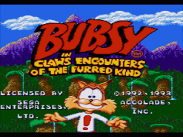 Bubsy in: Claws Encounters of the Furred Kind 0