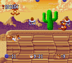 Bubsy in: Claws Encounters of the Furred Kind 16