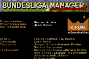 Bundesliga Manager Professional 19