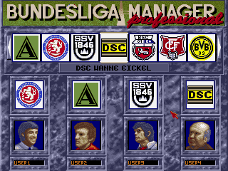 Bundesliga manager pro 1. 3 download (1991 amiga game).