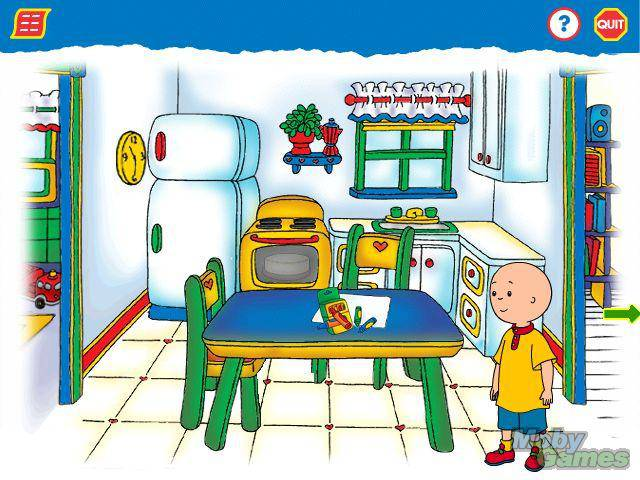 Download Caillou Magic Playhouse Mac My Abandonware
