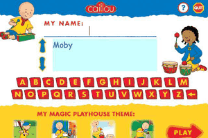 Caillou: Magic Playhouse 1