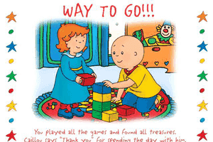 Caillou: Magic Playhouse 29