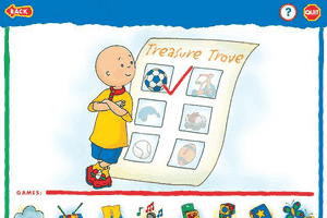 Caillou: Magic Playhouse 3