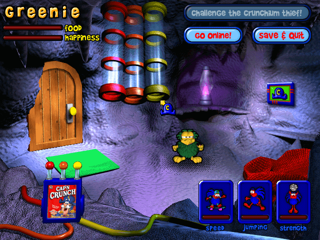Download Cap'n Crunch's Crunchling Adventure - My Abandonware