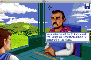Captain Bible in Dome of Darkness abandonware