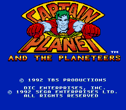 Captain Planet and the Planeteers 0