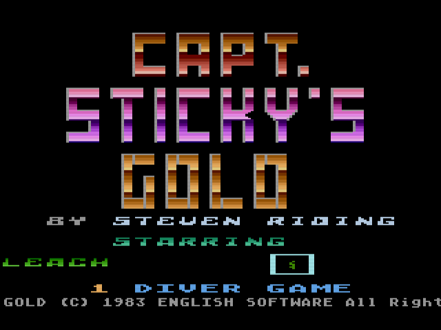 Captain Sticky's Gold 0