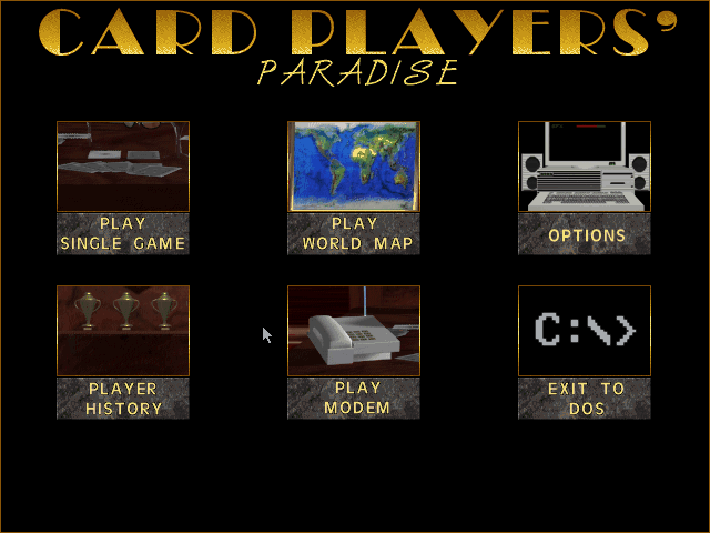 Card Players Paradise 0