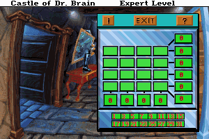 Castle of Dr. Brain abandonware