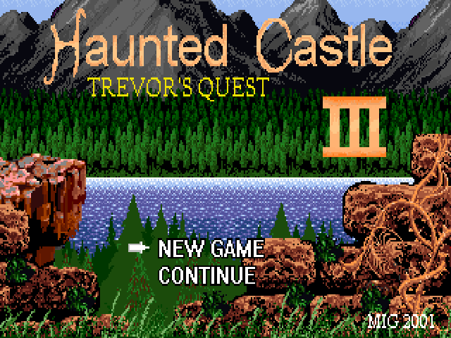 Castlevania Haunted Castle 3 - Trevor's quest 0