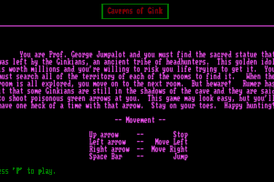 Caverns of Gink 1