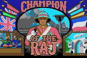 Champion of The Raj 0