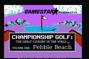 Championship Golf: The Great Courses of the World - Volume One: Pebble Beach 15